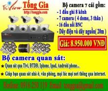 Bộ 7 camera