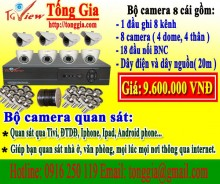 Bộ 8 camera